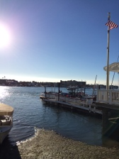 The ferry to and from Balboa Island